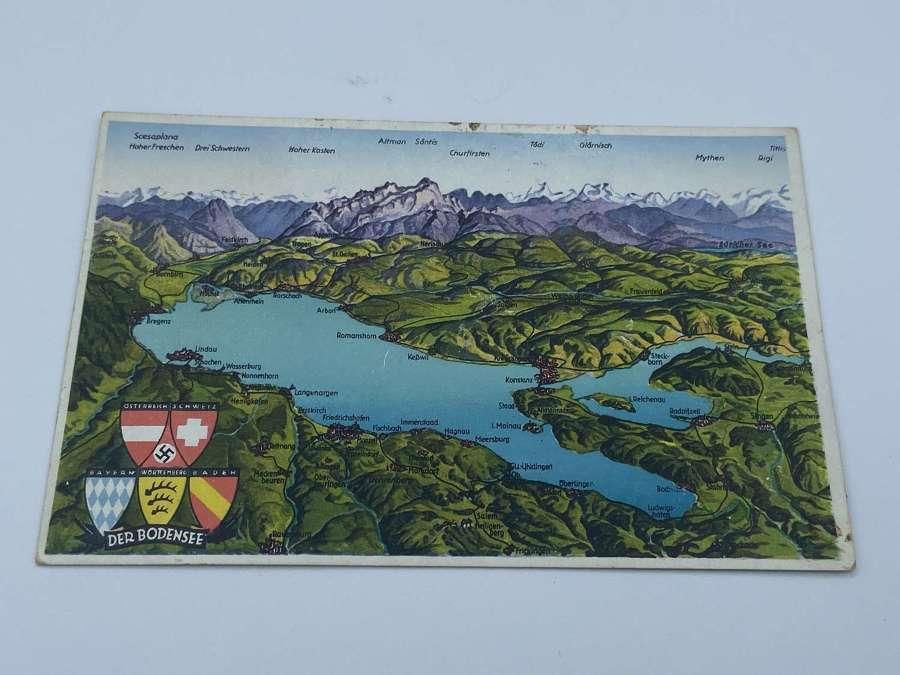 WW2 German Der Bodensee Post Card