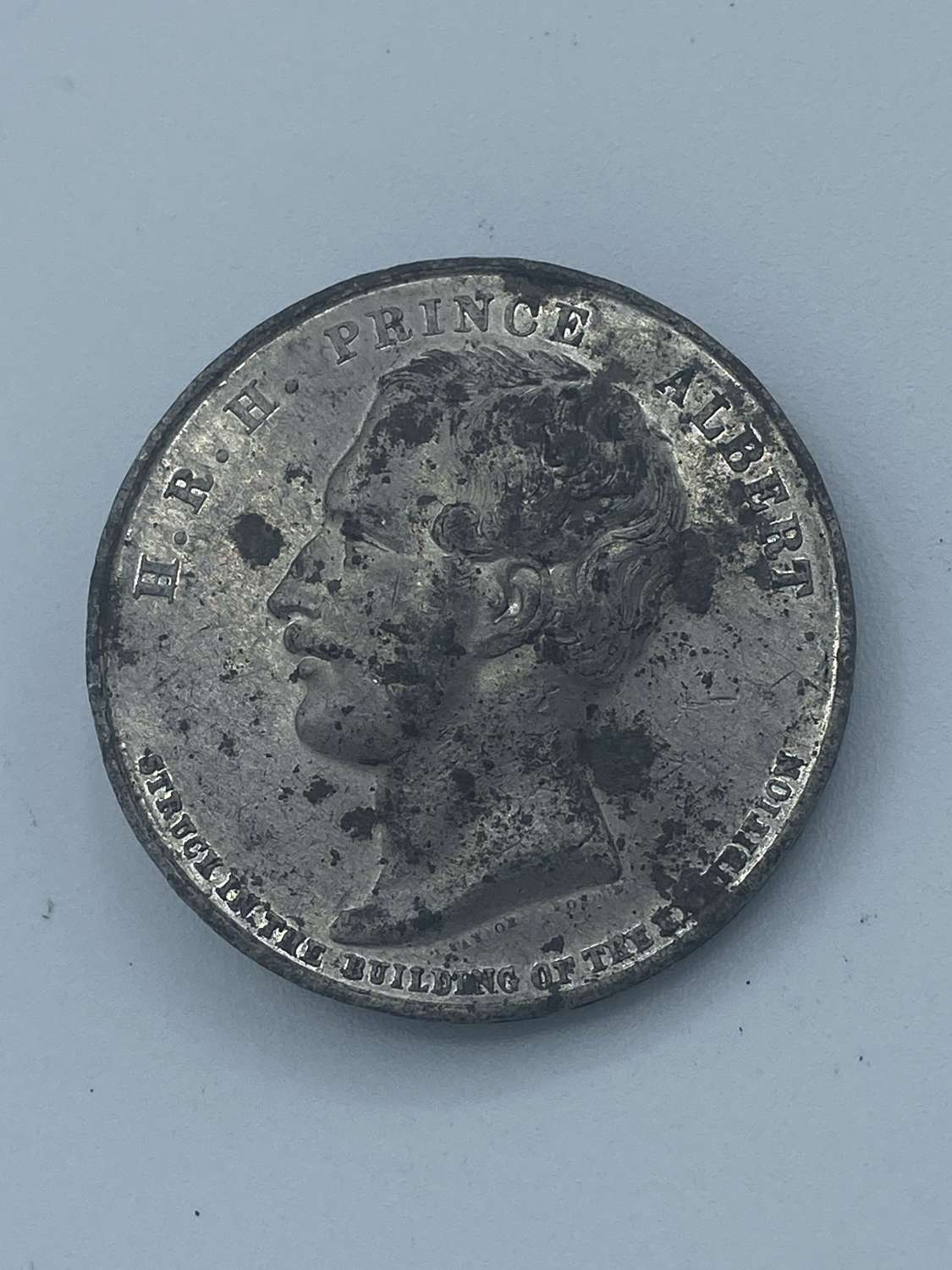 Great Exhibition Struck, Crystal Palace, 1851, Silvered WM Medal