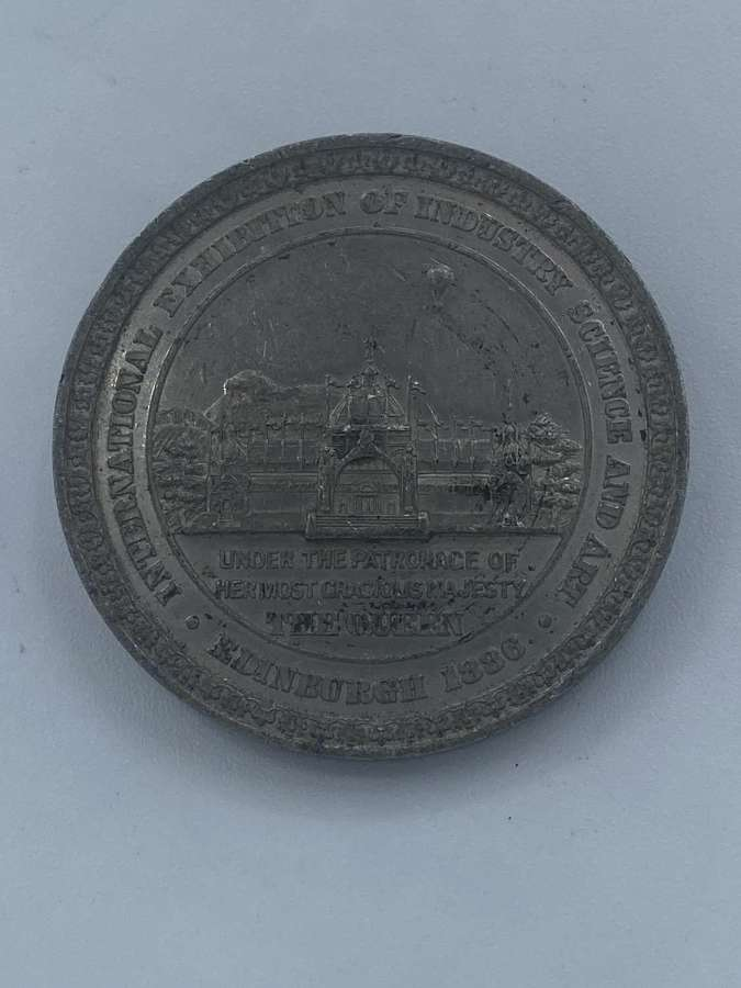 1886 Edinburgh International Exhibition Industry Science and art medal