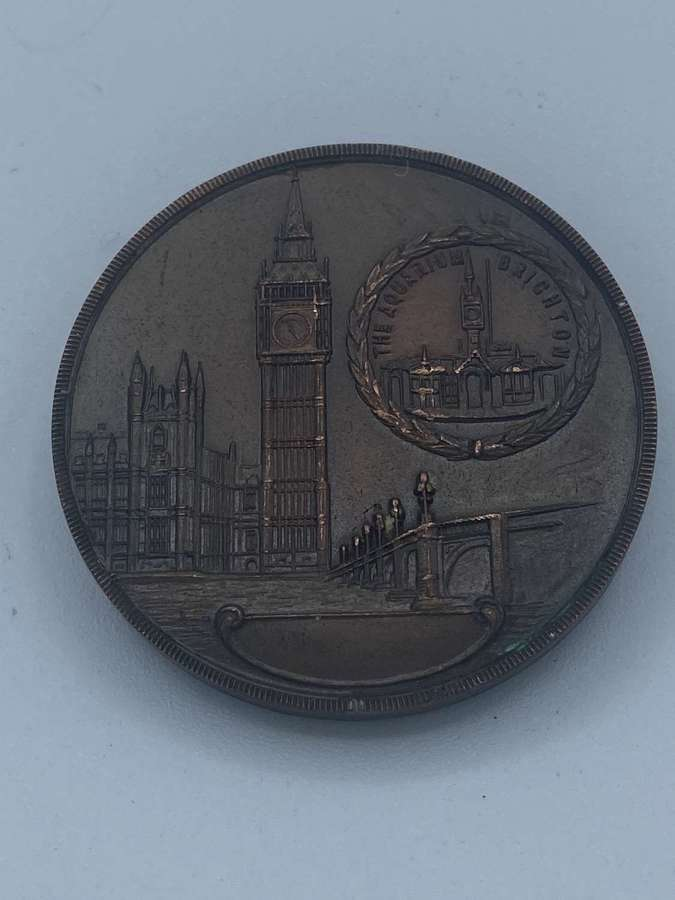 Vintage London To Brighton Race 1962 Medal Organised News Of The World