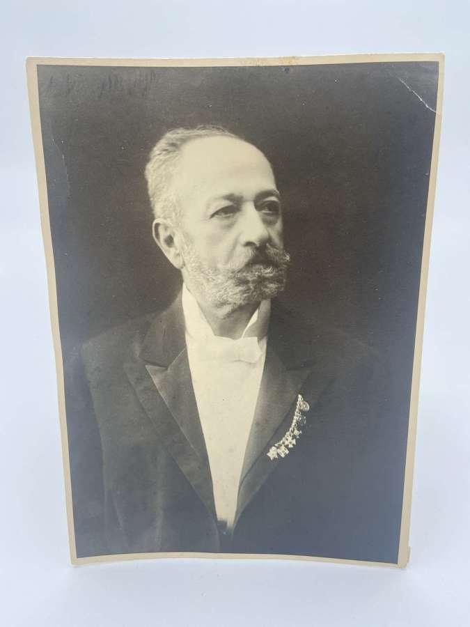 WW2Retired German General SignedPortrait Photo Printed On Leonar Paper
