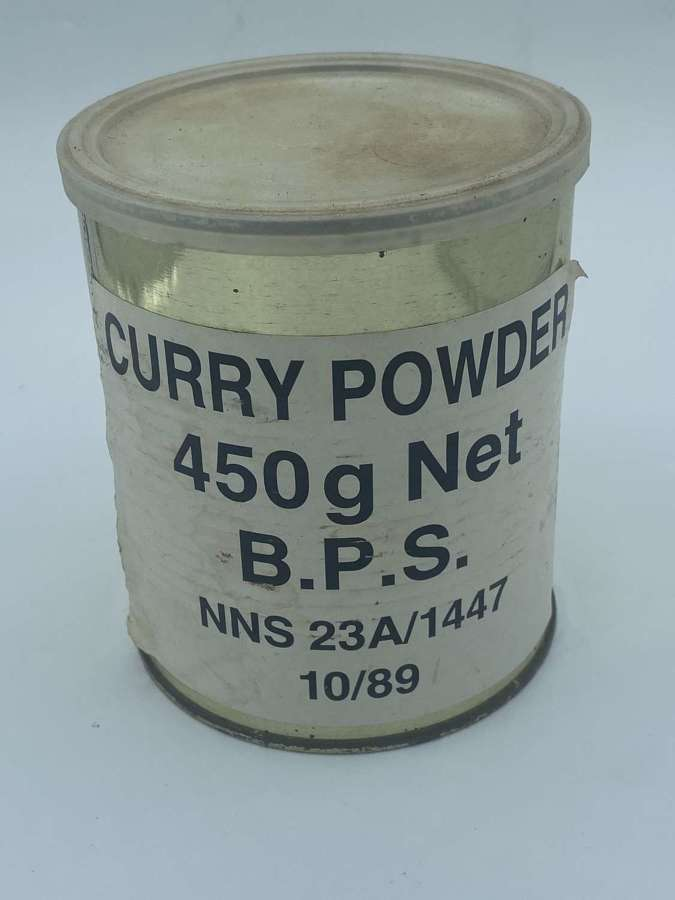 British Catering Corps 1980s Curry Powder 450g BPS Troops In Ireland