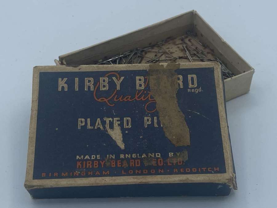 Ww1 British Home Front Kirby Beard Quality Plated Pins