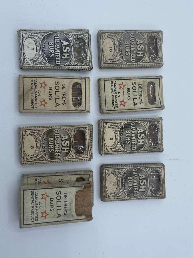Antique Unopened Ash Guaranteed Burs & De Treys Solila Burs