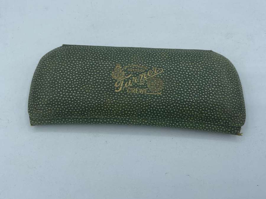 Original Antique Shagreen & Gilt Art Deco Turner Crewe Glasses Case