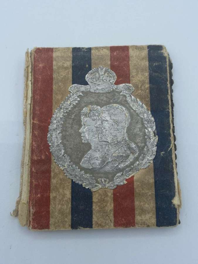 WW2 Royal Jubilee 1910 To 1935 British Home Front Needle Case Art Deco