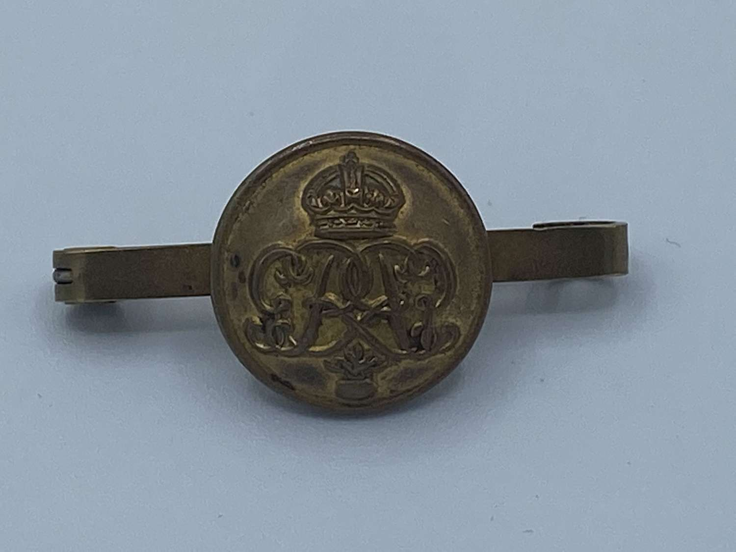 WW1 British Army Grenadier Guards Button Badge Sweetheart