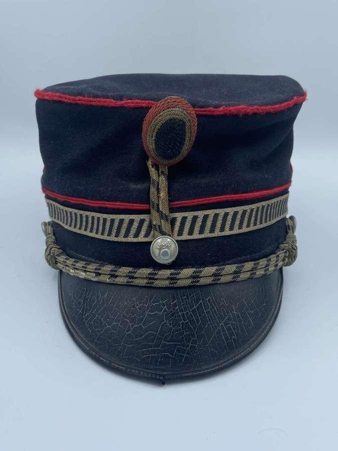 WW1-WW2 1933 Dated Belguim Military Police Grendarmerie Kepi Cap