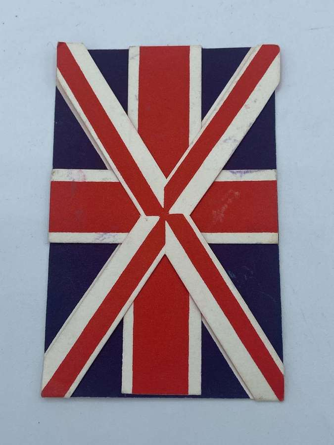 WW2 VE Day The Girls Guides Association Union Jack Leaflet Decorations