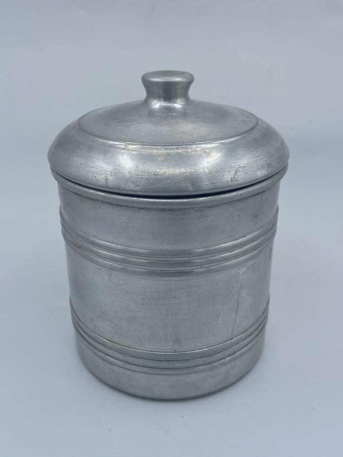 WW2 British Army Crow Foot Stamp War Department Aluminium Ice Bucket