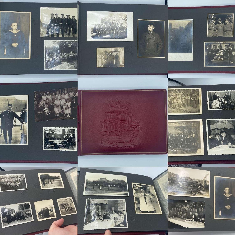 WW2 Kaiserliche, Reichs & Kriegsmarine Sailers PhotoAlbum Torpedo Boat