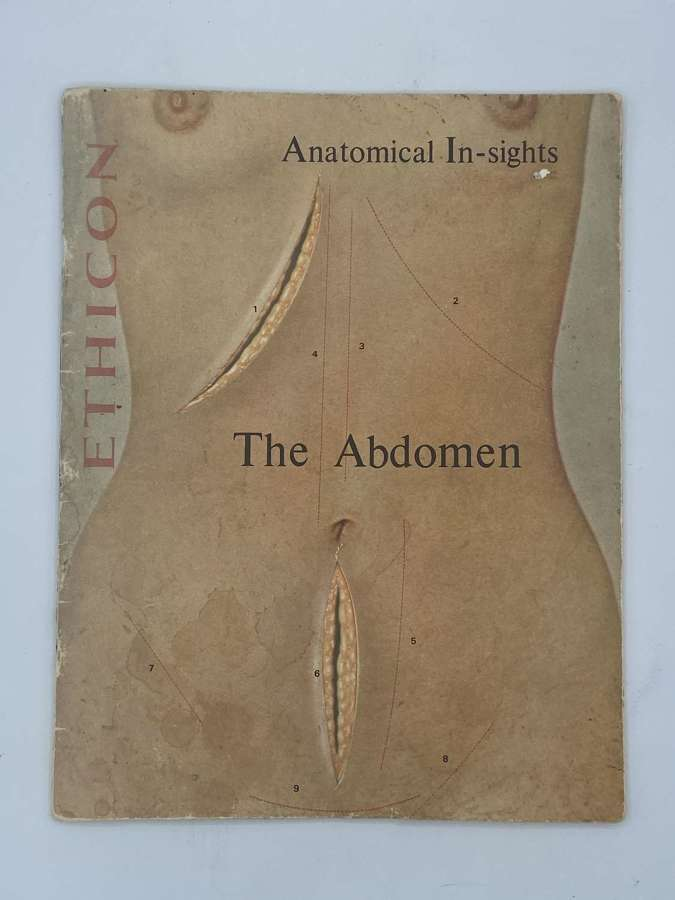 1969 Ethicon Anatomical In-sights: The Abdomen Book