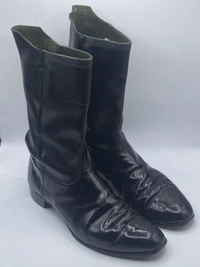 Original WW1 Canadian Army Half-Wellington Boots UK size 11-12