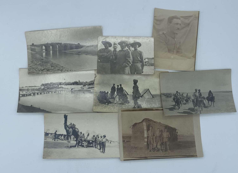 Rare WW1 Turkish Prisoner Of War & Gurkas Photographs