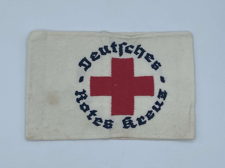 Early WW2 German Red Cross Armband Deutsches Rotes Kreuz DRK
