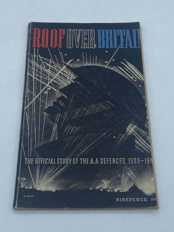 WW2 1943 Home Front Roof Over Britain Propaganda Book