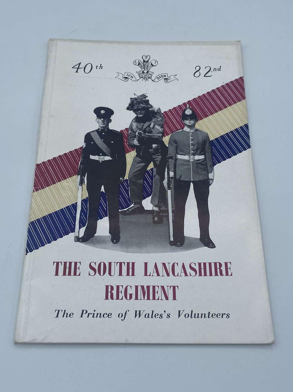 Early post ww2 south Lancashire regiment regimental handbook