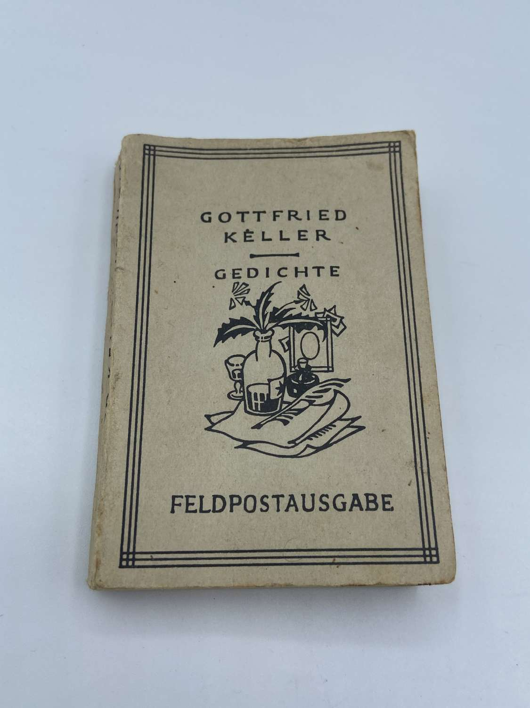 WW2 German Wehrmacht Feldpostausgabe Pocket Book Poems Gottfried Kelle