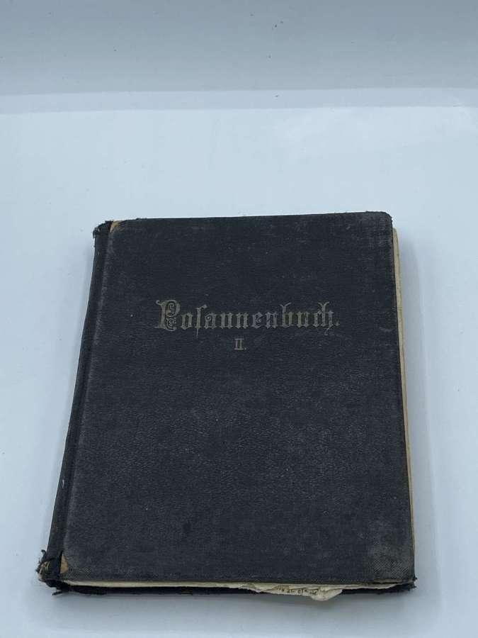 Pre WW2 German HJ Jubilate Posaunenbuch Patriotic Trumpet Songs
