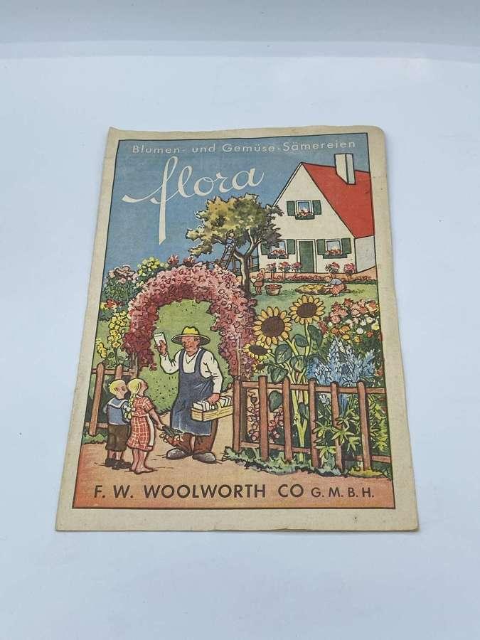 """1930s German Woolworths """"Woolies"""" GmbH Flower & Veg Seed"""