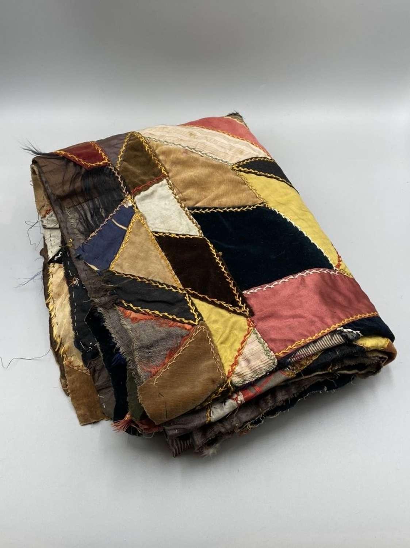 Victorian Sentimental Memorable Occasions Patchwork Throw Blanket