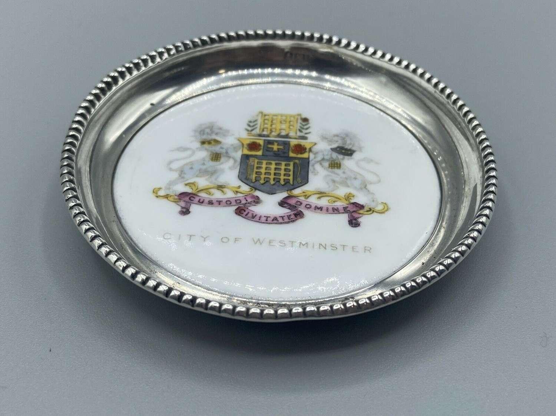 Antique Westminster Silver Hallmarked 1905 Birmingham Aynsley Dish