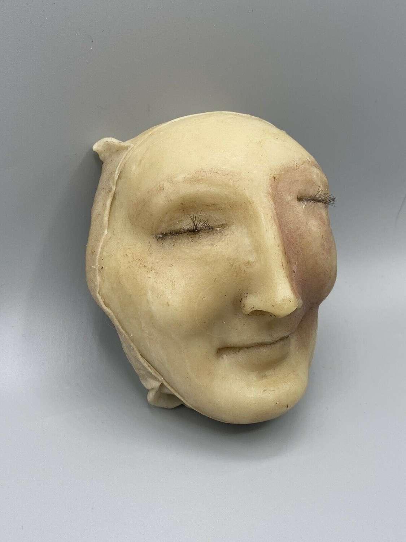 Female Medical Wax Diseased Swollen Eye Moulage Death Mask