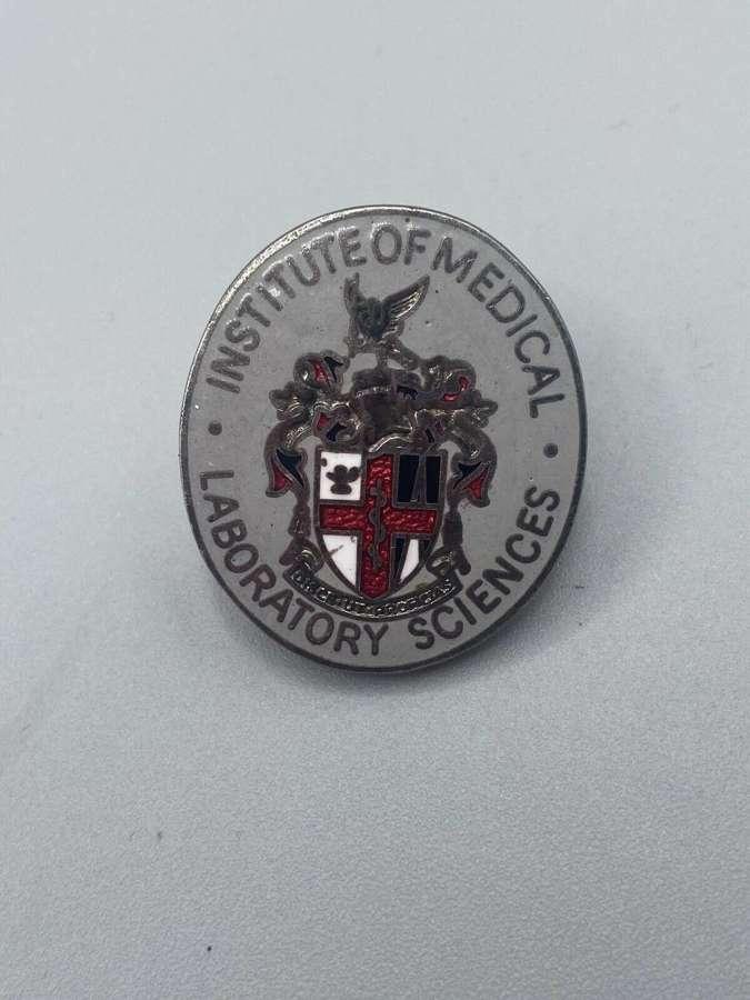 Vintage Ww2 Era Institute Of Medical Laboratory Sciences Badge Thomas