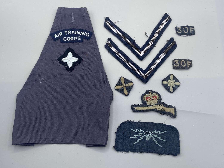 WW2 & Early Post War Air Training Corps Patches, Brassard Llandaff