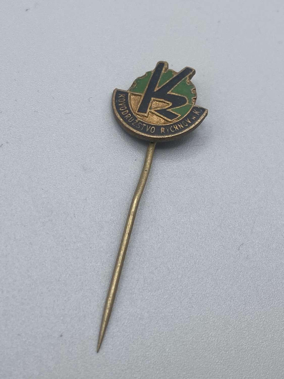 WW2 German Gross Rosen Concentration Camp Rychnov Factory Sponsors Pin