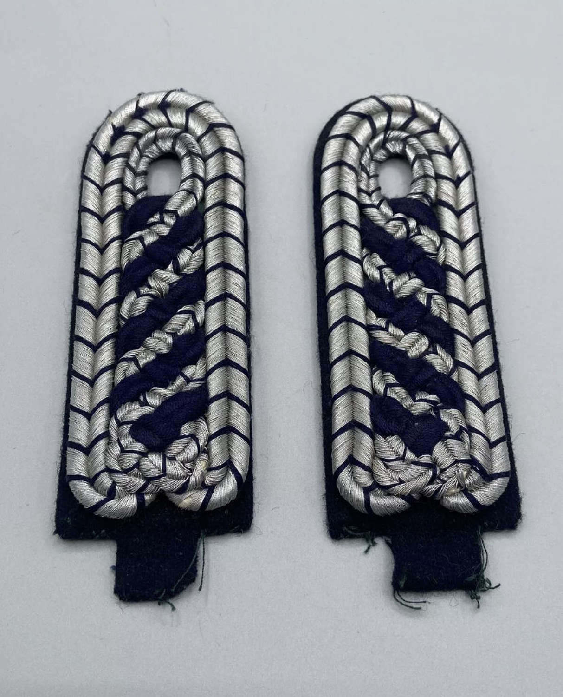 WW2 German Municipalities Police Masters Epaulettes