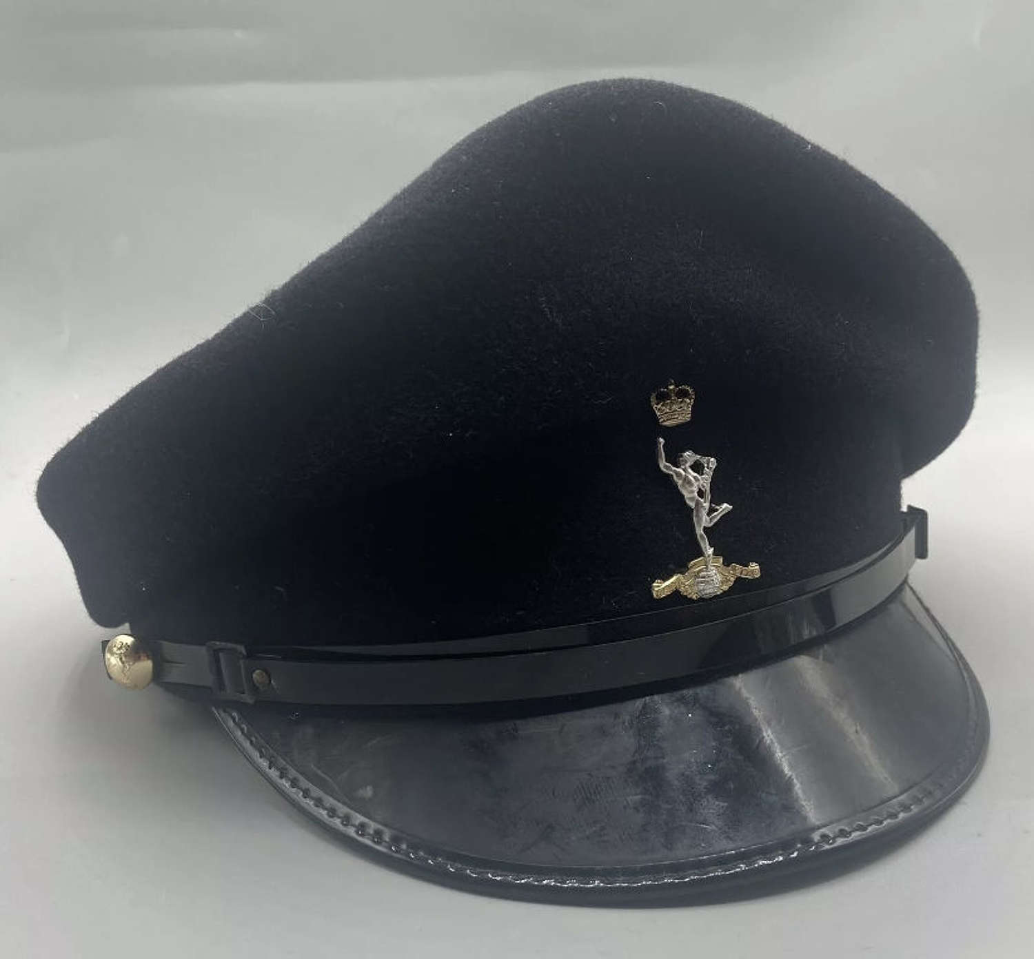 1960s British Army Women's Royal Signals Officers Peaked Cap Size 56
