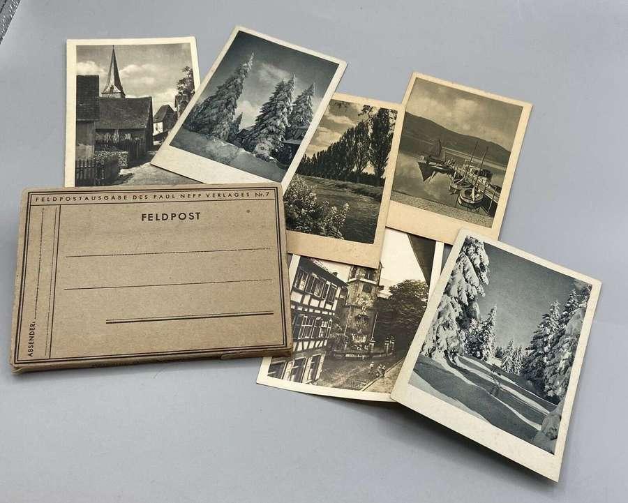 WW2 German Wehrmacht Field Post Edition Of Der Gasmann Feldpost + More