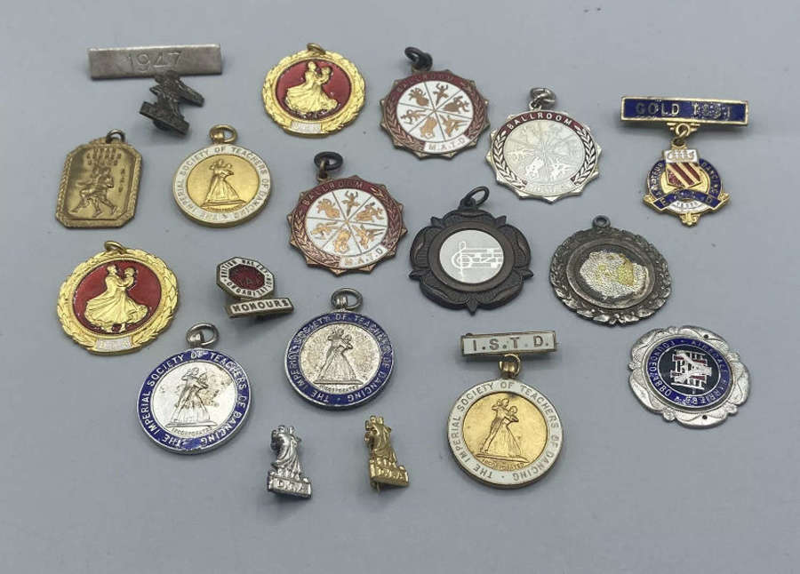 Vintage Collection Imperial Society of Teachers of Dancing Medals