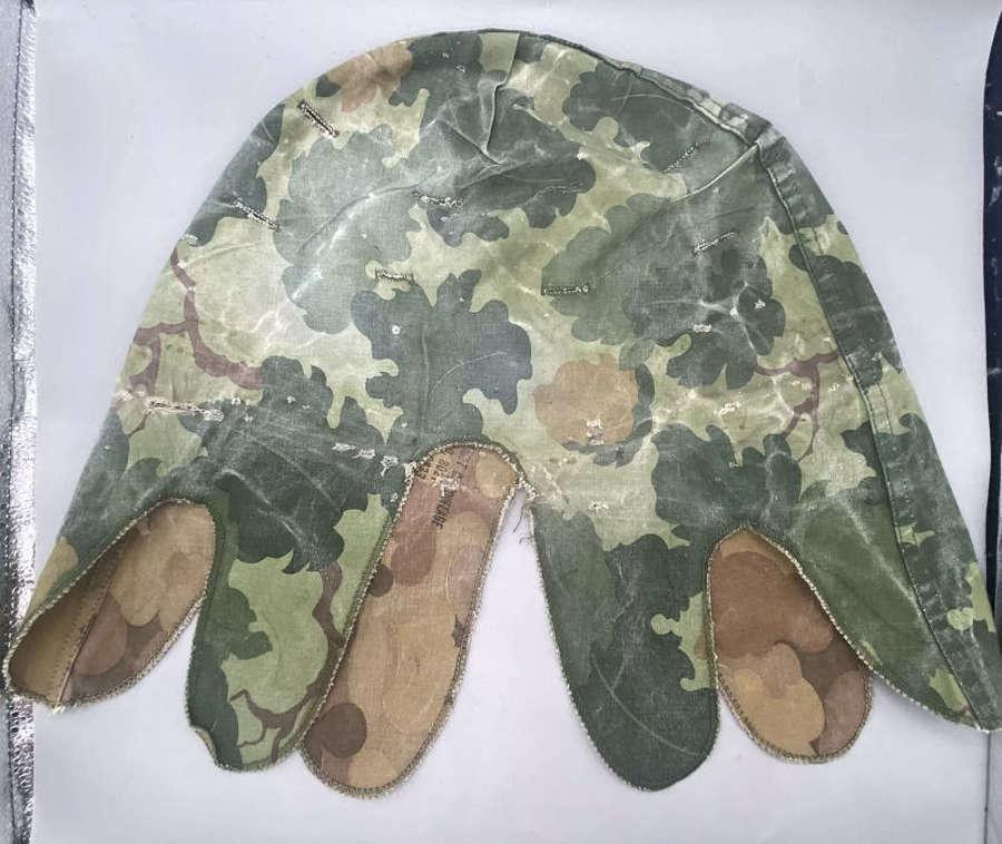 Vietnam US Army Defense Personal Supply Center M1 Camo Helmet Cover