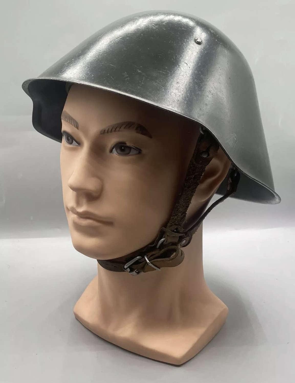 Post WW2 1958 Dated German M56 Volkspolizei People's Army Helmet