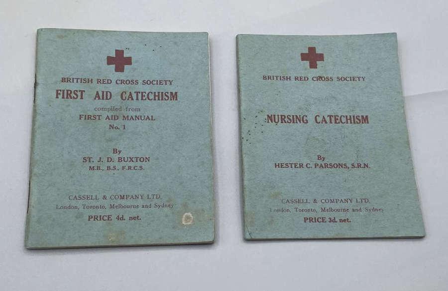 WW2 Australian & British Red Cross 1941 Paperback Manuals